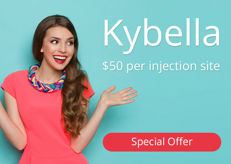 Kybella $50 per injection site